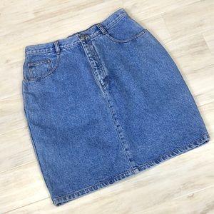 Jordache vintage denim jean shirt